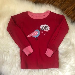 Hatley Kids Sweet Dreams Bird Pajama Shirt Top